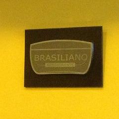 Photo taken at Brasiliano by Thiago A. on 3/15/2013
