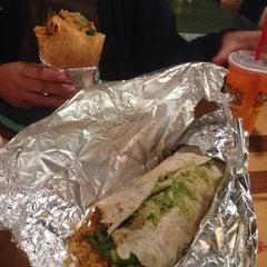 Photo taken at Izzo's Illegal Burrito by Jennifer S. on 1/27/2015