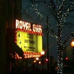 Photo taken at Royal Oak Music Theatre by Kate T. on 10/25/2012