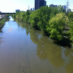 Photo taken at Discovery Walk DVP Footbridge by Andy H. on 5/26/2013