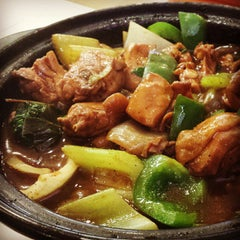 Photo taken at Chicken Hot Pot by e r i c y. on 10/8/2013