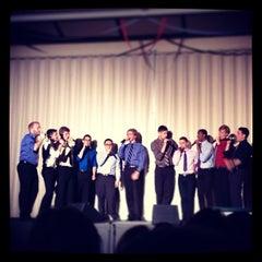 Photo taken at Boston University Morse Auditorium (BU Morse) by Sandra M. on 4/28/2013