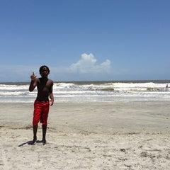 Photo taken at Hunting Island Beach by Braydon J. on 7/14/2013