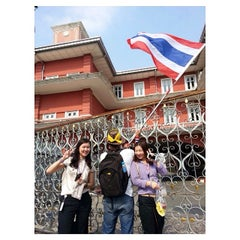 Photo taken at สำนักงานปลัดสำนักนายกรัฐมนตรี (The Office of the Permanent Secretary, The Prime Minister's Office) by Tanai T. on 12/9/2013