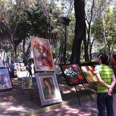 Photo taken at Jardín Del Arte by Lola C. on 5/26/2013