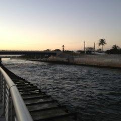 Photo taken at Boynton Beach Inlet by Lori Y. on 12/18/2012