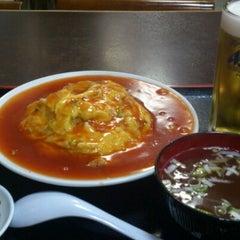 Photo taken at 朱華飯店 小田原店 by Koutaku T. on 11/16/2012