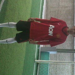 Photo taken at Planet Futsal by Arif B. on 11/10/2012