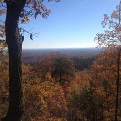 Photo taken at Paris Mountain State Park by julie f. on 11/10/2012