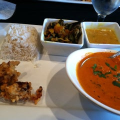 Photo taken at Dakshin Indian Bistro Paradise Biryani by steven h. on 11/21/2011