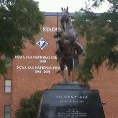 Photo taken at Furman University by Zach L. on 10/8/2012
