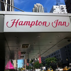 Photo taken at Hampton Inn Manhattan Times Square North by Orsini G. on 8/5/2013