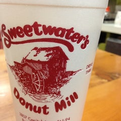 Photo taken at Sweetwater's Donut Mill by Matthew W. on 11/2/2012