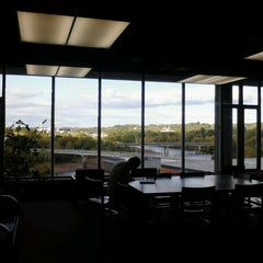 Photo taken at McIntyre Library by Meagan E. on 9/17/2012