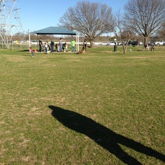 Photo taken at Fort Woof Dog Park by Melanie A. on 2/18/2013