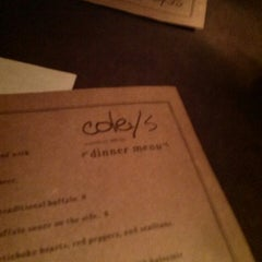 Photo taken at Coley's American Bistro by Dale D. on 11/8/2013