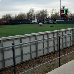 Photo taken at Marita Hynes Field at the OU Softball Complex by Lucas H. on 4/5/2013