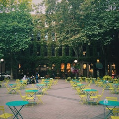 Photo taken at Pioneer Square by Heather M. on 7/28/2015