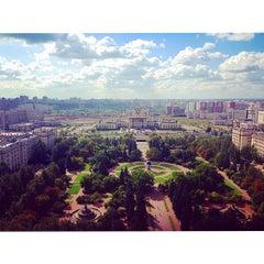 Photo taken at Географический факультет МГУ by Maria I. on 9/4/2014