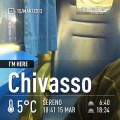Photo taken at Stazione Chivasso by Umbe S. on 3/15/2013