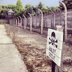 Photo taken at Muzeum Auschwitz-Birkenau by Aleksei U. on 7/5/2013