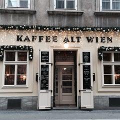 Photo taken at Kaffee Alt Wien by Alex O. on 1/23/2015