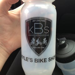 Photo taken at Kyle's Bike Shop by Kate J. on 7/19/2013
