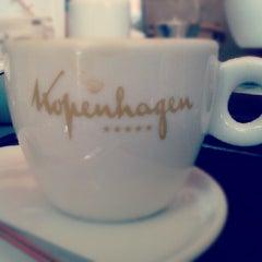 Photo taken at Kopenhagen Café by Kevin M. on 10/19/2012