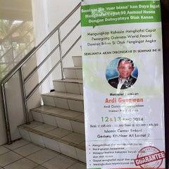 Photo taken at Islamic Center Bekasi by astrid u. on 4/12/2014