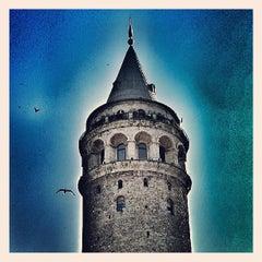 Photo taken at Galata Kulesi by Burçin D. on 7/2/2013