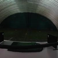 Photo taken at Robert Morris University Island Sports Center - Golf Dome by JR S. on 12/5/2012