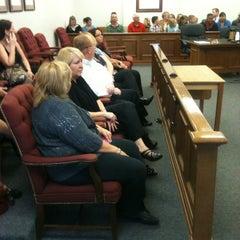 Photo taken at Bartholomew County Courthouse by Rick S. on 10/9/2012