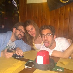 Photo taken at Pub Birreria Spaghetteria da Agostino by Tommaso P. on 6/4/2014