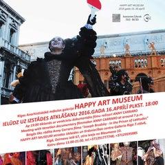 Photo taken at Happy Art Museum | Galleria Riga by HappyArtMuseum D. on 4/12/2016