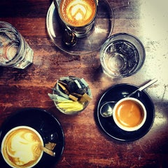 Photo taken at Oriole Coffee + Bar by Andrea L. on 1/1/2013