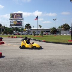 Photo taken at Lil 500 Go Karts by Miguel G. on 4/26/2014