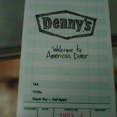 Photo taken at Denny's by Christina G. on 3/10/2014