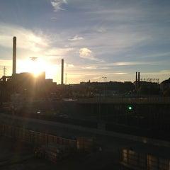 Photo taken at Kalasatama / Fiskehamnen by Erik R. on 1/28/2013