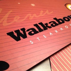 Photo taken at Walkabout Steakhouse by Jones P. on 12/15/2012
