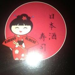Photo taken at Kimono by Biebje B. on 9/7/2013