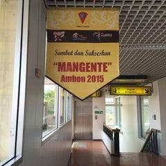 Photo taken at Pattimura International Airport (AMQ) by Hendra G. on 10/15/2015