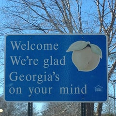 Photo taken at Georgia / South Carolina State Line by Amy W. on 1/31/2013