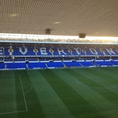 Photo taken at Goodison Park by Alan G. on 11/28/2012