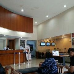 Photo taken at Bank Mega by Krisna K. on 12/4/2012