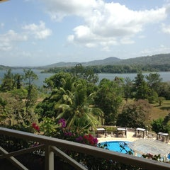 Photo taken at Gamboa Rainforest Resort by Carlos S. on 2/21/2013