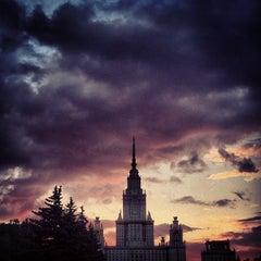 Photo taken at МГУ им. М. В. Ломоносова by z. on 6/7/2013
