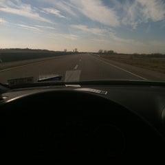 Photo taken at Matfield Green Service Area - Kansas Turnpike by Adam J. on 11/26/2012