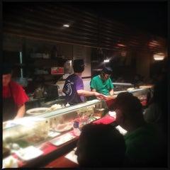 Photo taken at Iroha Sushi of Tokyo by Arriman on 4/19/2015