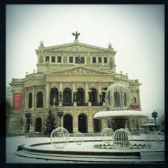 Photo taken at Alte Oper by Lukas L. on 12/9/2012