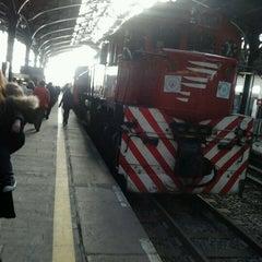 Photo taken at Estación Retiro [Línea Belgrano Norte] by Ralph Z. on 5/16/2013